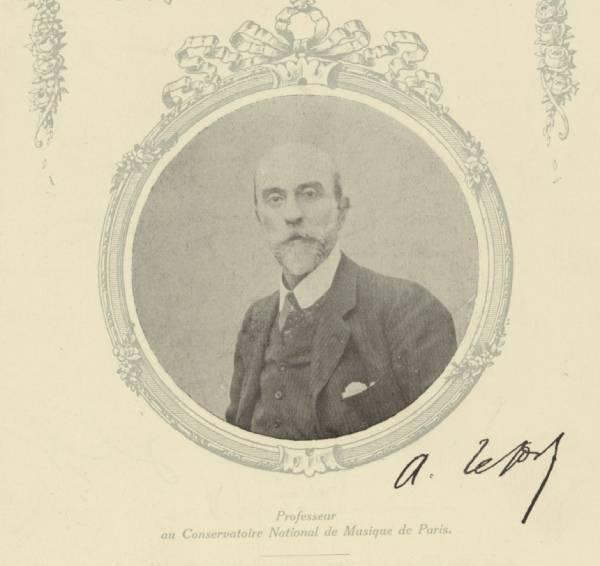 Le violoniste Augustin Lefort