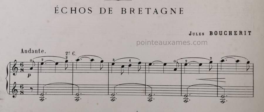 Pièce pour violon composée par Jules Boucherit